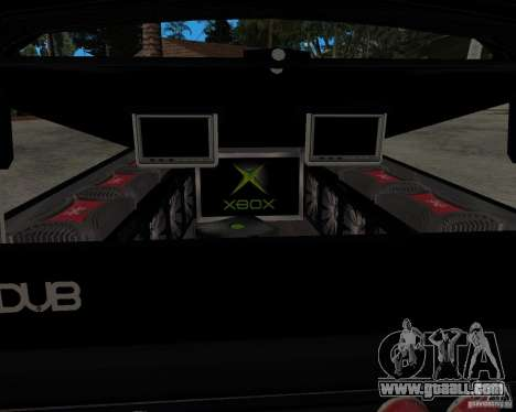 Chevrolet Silverado 1996 Lowrider for GTA San Andreas right view