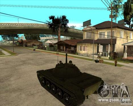 T-55 for GTA San Andreas left view