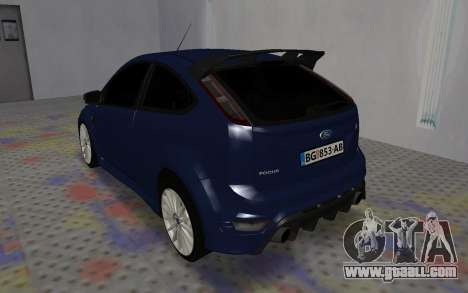 Ford Focus RS for GTA San Andreas right view