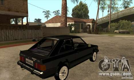 Ford Escort XR3 1986 for GTA San Andreas right view