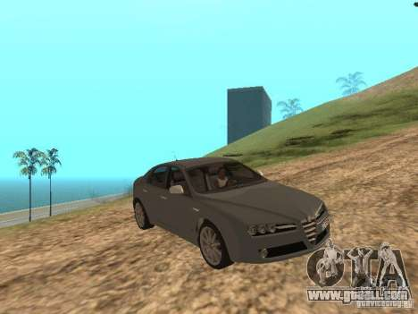 Alfa Romeo 159Ti for GTA San Andreas inner view