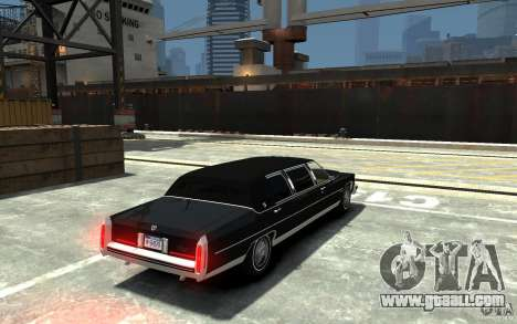 Cadillac Fleetwood Limousine 1985 [Final] for GTA 4 right view
