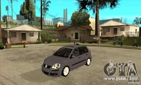 Volkswagen Polo 2008 for GTA San Andreas