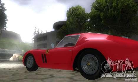 Ferrari 250 GTO 1962 for GTA San Andreas left view