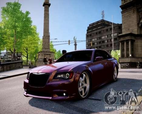 Chrysler 300 SRT8 DUB 2012 for GTA 4 right view