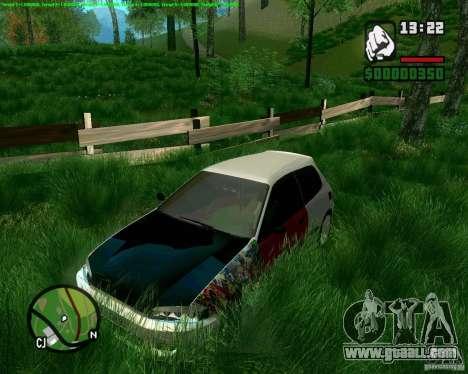 Honda Civic Hellaflush for GTA San Andreas