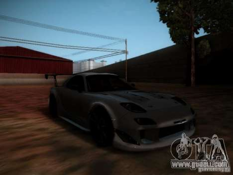 Mazda RX7 Drift for GTA San Andreas left view