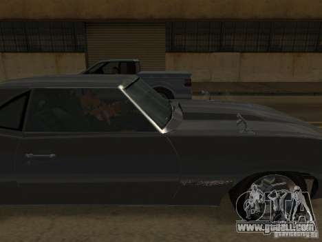 Sabre from GTA 4 for GTA San Andreas left view