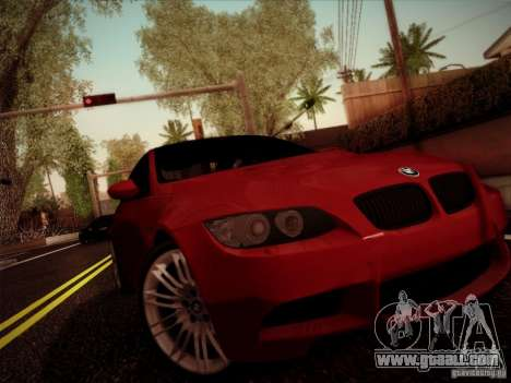 BMW E92 v2 Updated for GTA San Andreas left view