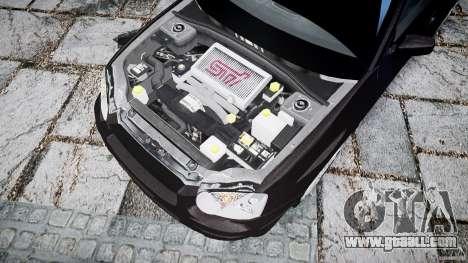 Subaru Impreza v2 for GTA 4 back view