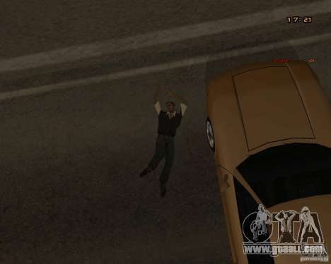 New animations for GTA San Andreas sixth screenshot
