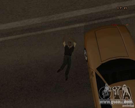 New animations for GTA San Andreas sixth screenshot