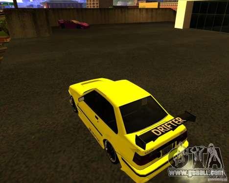 GTA VI Futo GT custom for GTA San Andreas left view