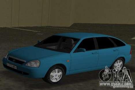 Lada Priora Hatchback for GTA Vice City left view