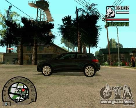 Volswagen Scirocco for GTA San Andreas right view