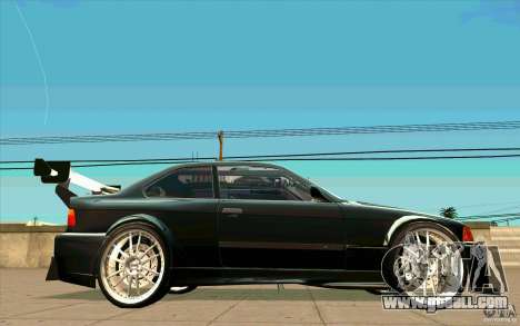 NFS:MW Wheel Pack for GTA San Andreas sixth screenshot