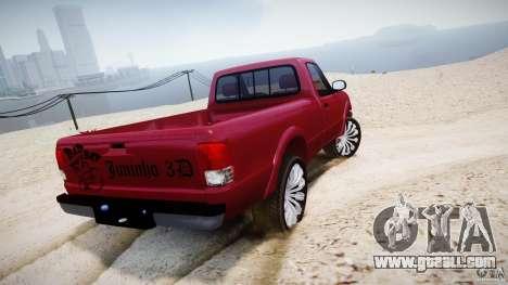 Ford Ranger for GTA 4 back left view