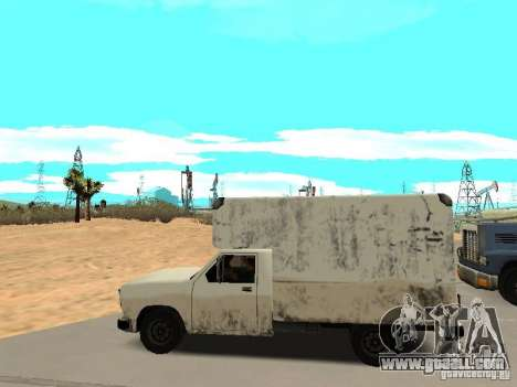 New Benson for GTA San Andreas left view
