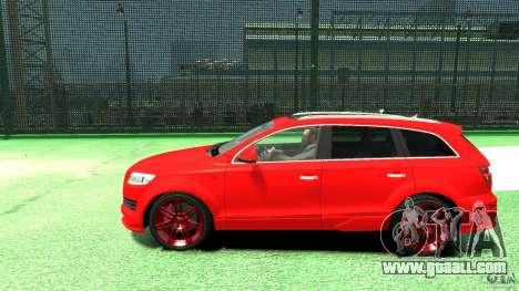 Audi Q7 v12 TDI for GTA 4 left view