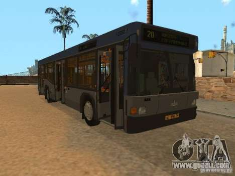 MAZ 103 for GTA San Andreas side view