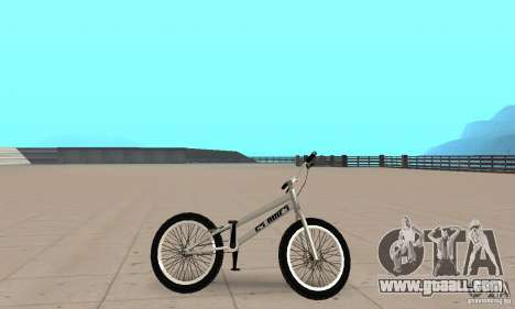 CS bikes BMX for GTA San Andreas back left view
