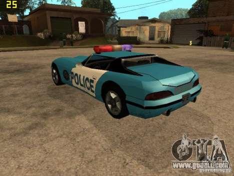 Banshee Police San Andreas for GTA San Andreas left view