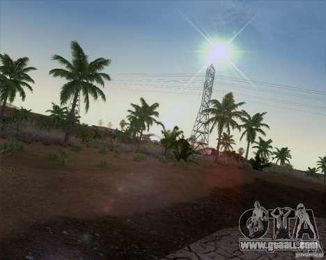 HQ Country N2 Desert for GTA San Andreas third screenshot