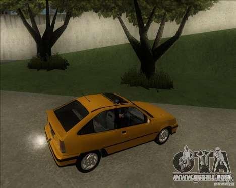Chevrolet Kadett GSi 2.0 (1991-1995) for GTA San Andreas left view