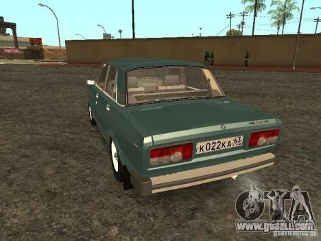 VAZ 2105 v. 2 for GTA San Andreas back left view