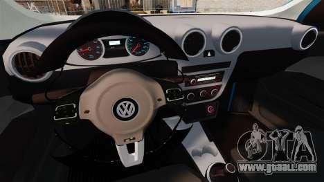 Volkswagen Voyage G6 2013 for GTA 4 inner view