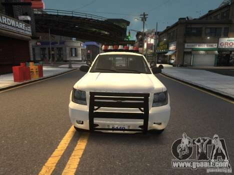 Chevrolet Tahoe NYPD V.2.0 for GTA 4