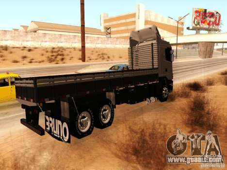 Scania 124G R400 for GTA San Andreas back left view
