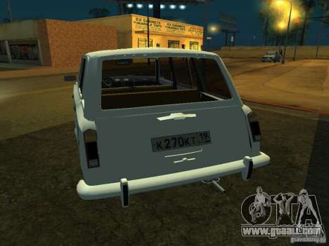 VAZ 2106 Touring for GTA San Andreas right view