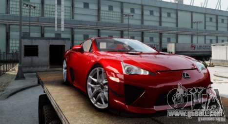 Lexus LF-A for GTA 4 left view