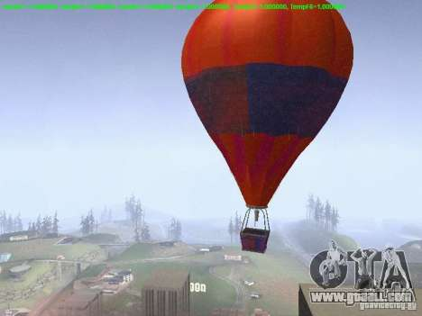 Balloon-style hippie for GTA San Andreas