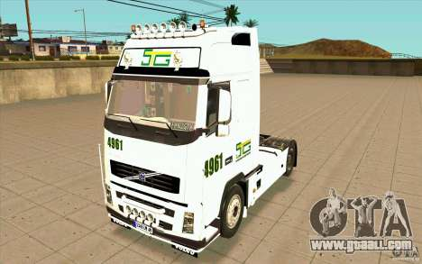 Volvo FH16 Globetrotter STG for GTA San Andreas