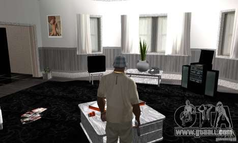 Modern Savehouse interior for GTA San Andreas