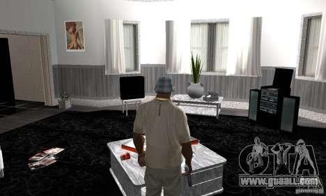 Modern Savehouse interior for GTA San Andreas
