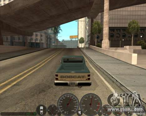 memphis Speedometer v2.0 for GTA San Andreas