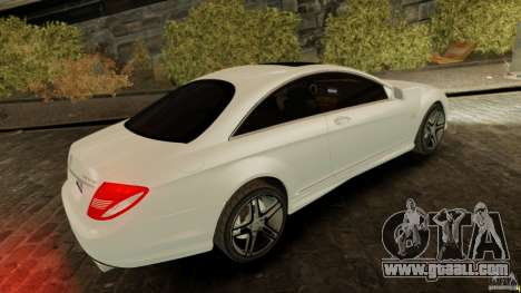 Mercedes-Benz CL65 AMG Stock for GTA 4 left view