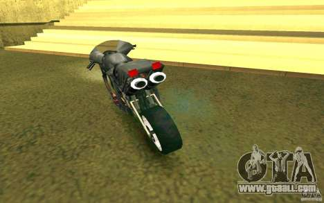Motorcycle of the Alien City for GTA San Andreas right view