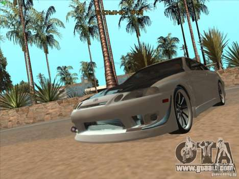 Toyota Soarer (JZZ30) for GTA San Andreas side view