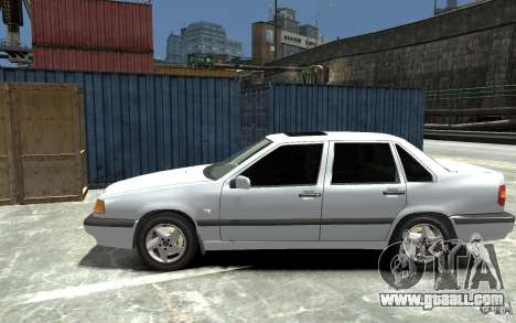 Volvo 850 Turbo 1997 for GTA 4 left view