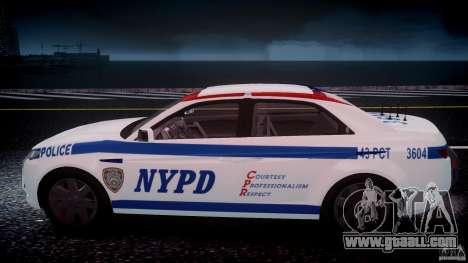Carbon Motors E7 Concept Interceptor NYPD [ELS] for GTA 4 engine