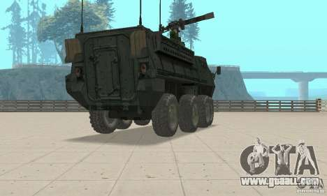 Stryker for GTA San Andreas left view