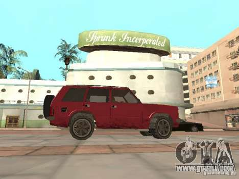 The New Huntley for GTA San Andreas left view