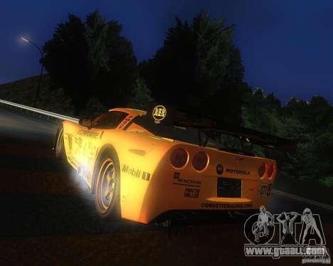Chevrolet Corvette Drift for GTA San Andreas left view
