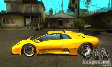 Lamborghini Diablo GT-R 1999 for GTA San Andreas left view