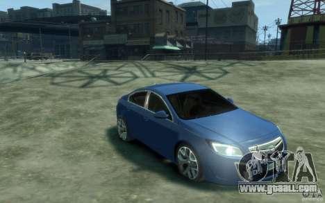 Opel Insignia OPC 2010 for GTA 4