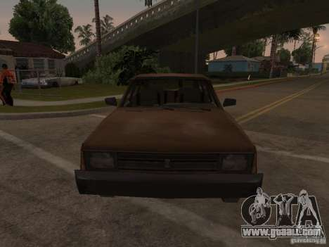 Machine of CoD MW 2 for GTA San Andreas back view